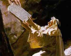 10 Przykazań Bożych - Dekalog